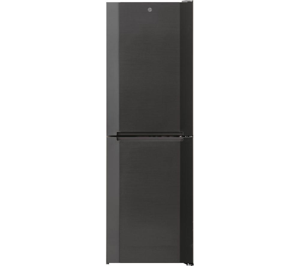 HOOVER HMNB 6182DX5KN 50/50 Fridge Freezer - Dark Stainless
