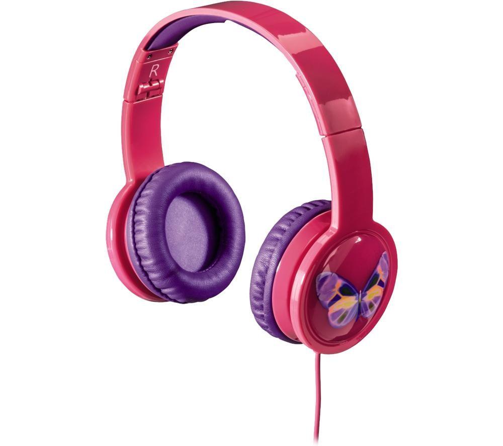 HAMA Blink'n Kids 135664 Kids Headphones - Pink, Pink