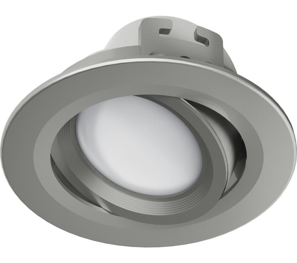 HAMA 00176578 LED Built-In Spotlight - Satin Nickel