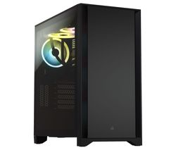 4000D Tempered Glass Mid-Tower ATX PC Case - Black
