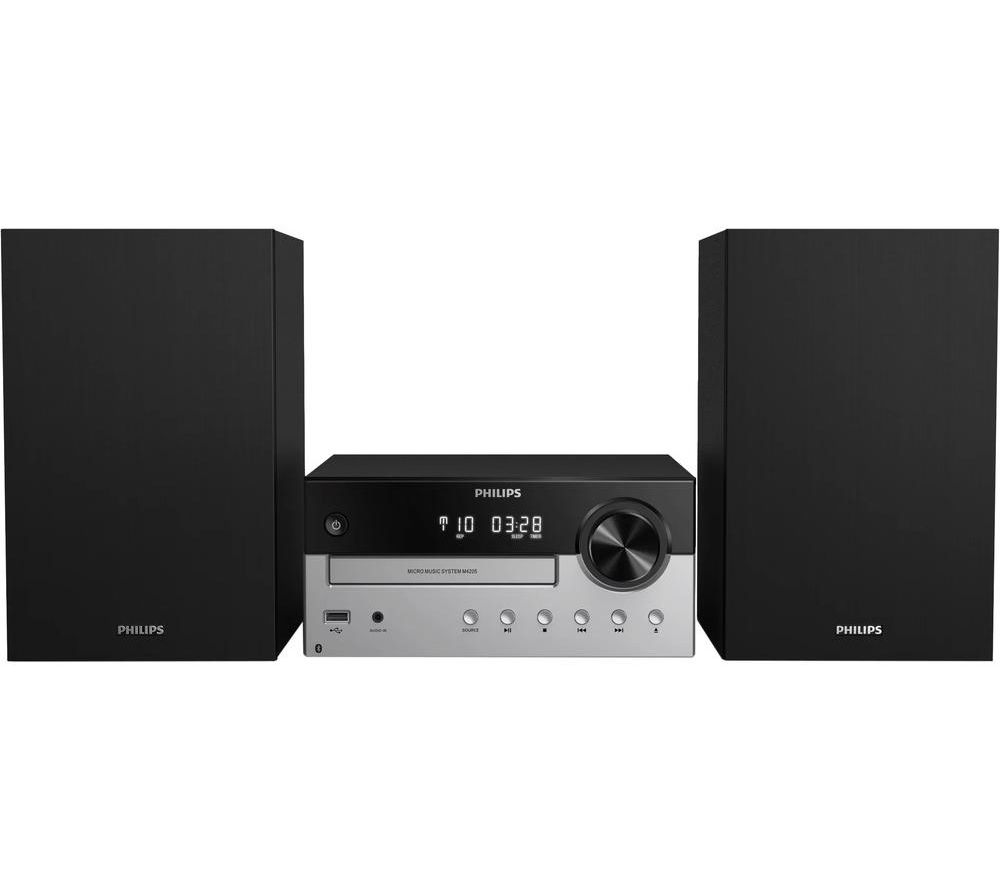 PHILIPS TAM4205/12 Bluetooth Micro Hi-Fi System - Silver