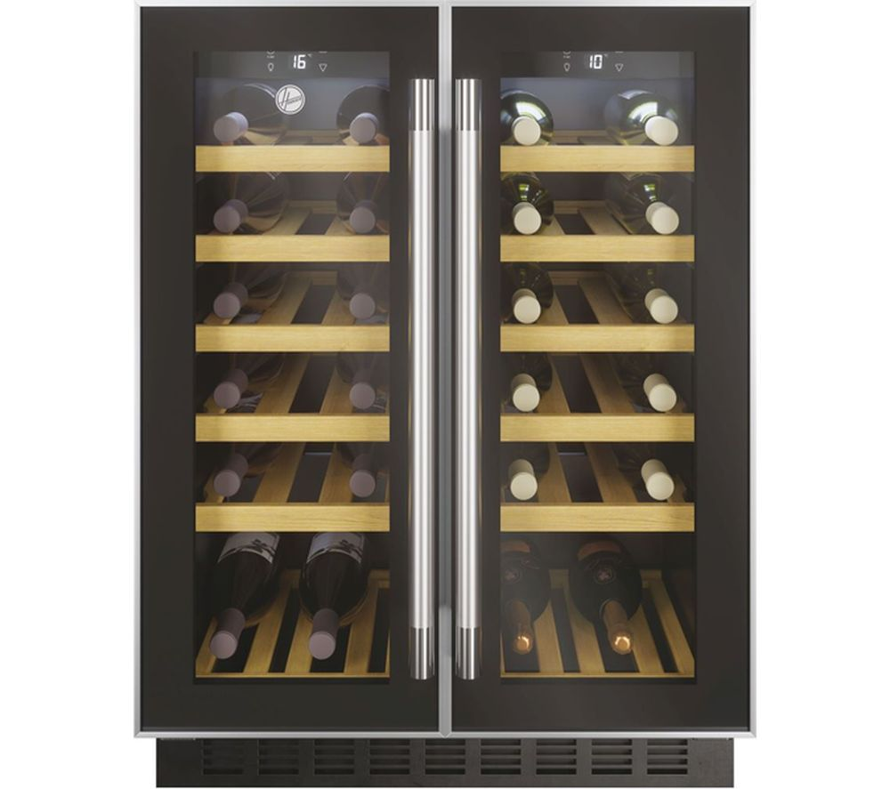 HOOVER HWCB 60D UK/N Wine Cooler ? Black, Black