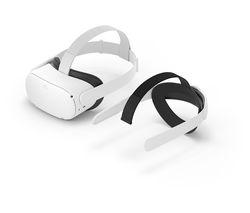 Quest 2 VR Gaming Headset & Elite Strap Bundle - 256 GB