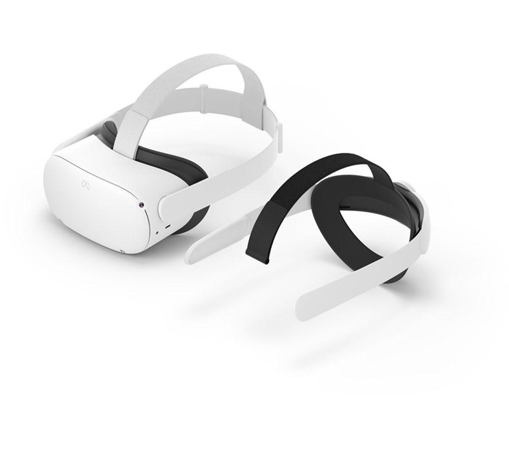 OCULUS Quest 2 VR Gaming Headset & Elite Strap Bundle - 256 GB