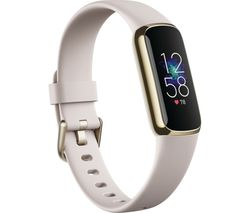 Luxe Fitness Tracker - Lunar White & Soft Gold, Universal
