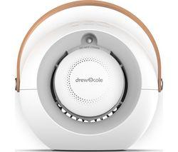 """Humi Portable 6.8"""" Hot & Cool Desk Fan - White"""