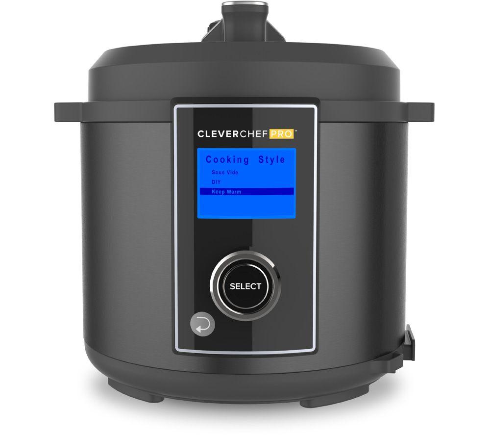 DREW & COLE Clever Chef Pro Multicooker - Black