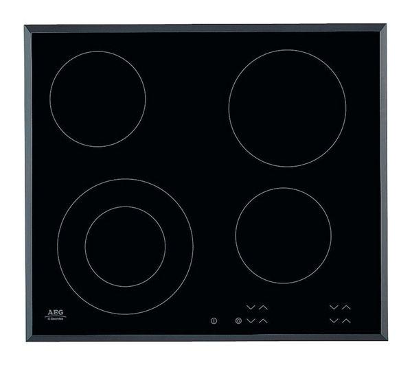 AEG HK624010FB Electric Ceramic Hob - Black