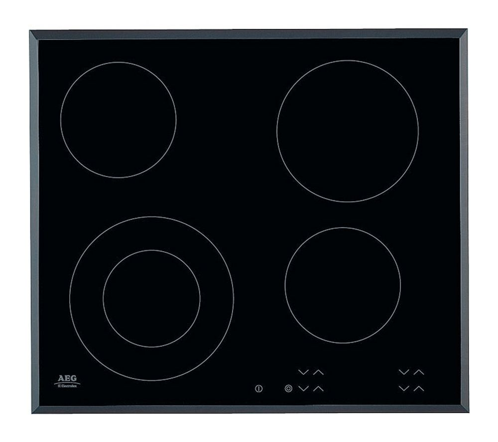AEG HK624010FB Electric Ceramic Hob - Black