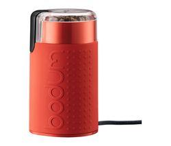 Bistro 11160-294UK Electric Coffee Grinder - Red