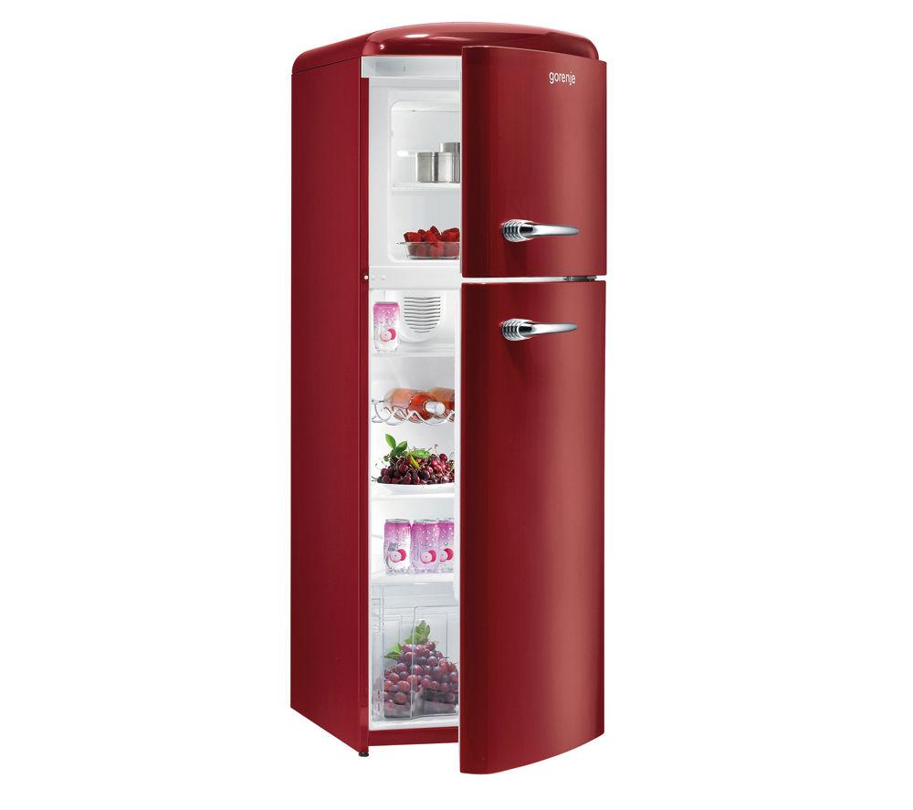 GORENJE RF60309OR Fridge Freezer - Burgundy