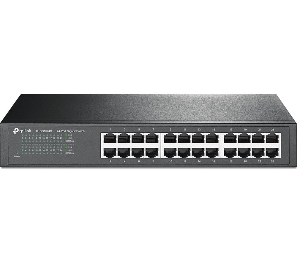 TP-LINK TL-SG1024D Network Switch - 24 port