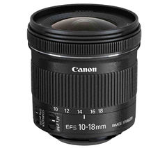 EF-S 10-18 mm f/4.5-5.6 IS STM Wide-angle Zoom Lens