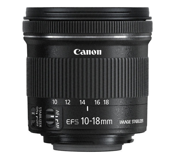 CANON EF-S 10-18 mm f/4 5-5 6 IS STM Wide-angle Zoom Lens