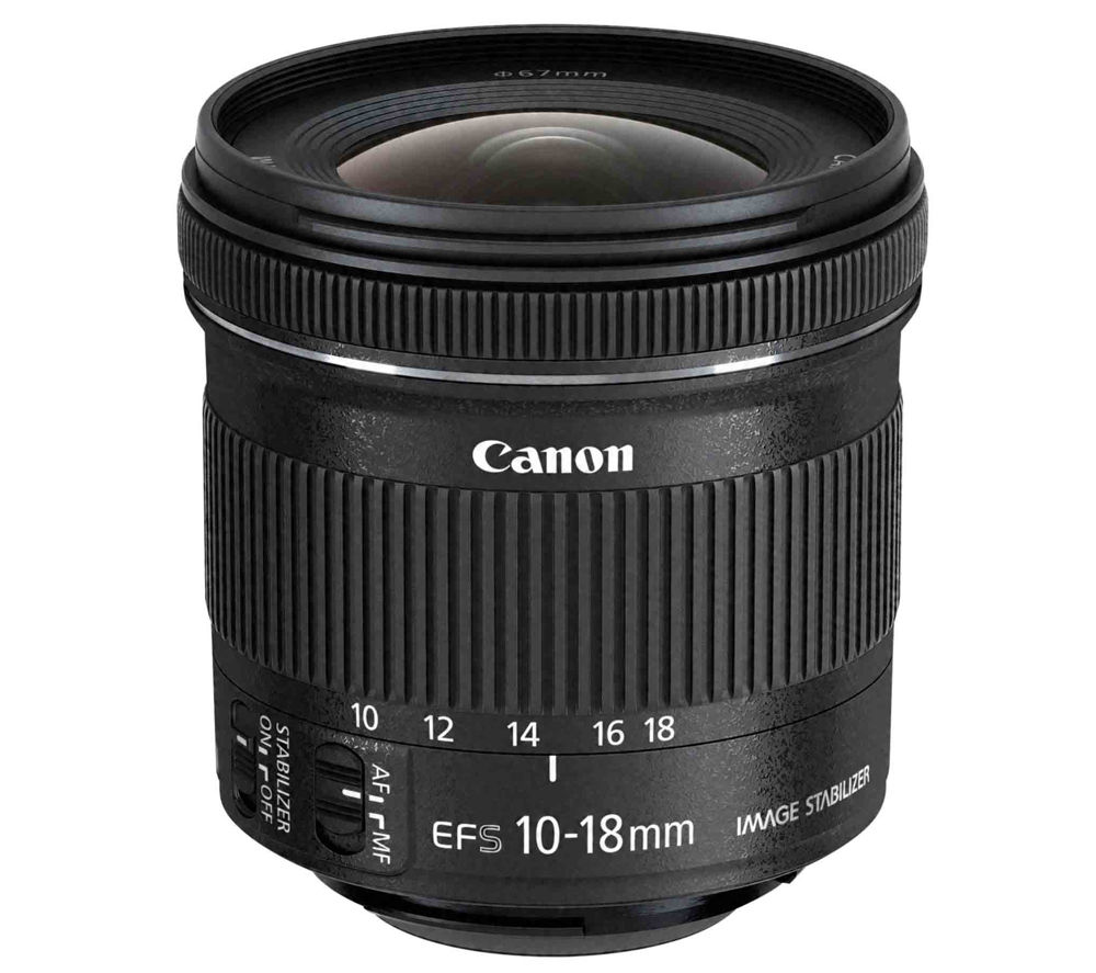 CANON EF-S 10-18 mm f/4.5-5.6 IS STM Wide-angle Zoom Lens