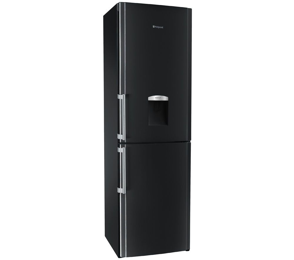 HOTPOINT FFLAA58WDK 60/40 Fridge Freezer - Black