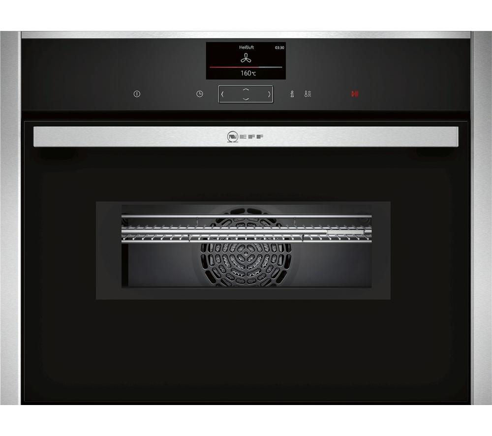 Image of NEFF C17MS32N0B Built-in Combination Microwave - Black, Black