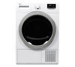 BEKO Select DSX83410W Heat Pump Tumble Dryer - White