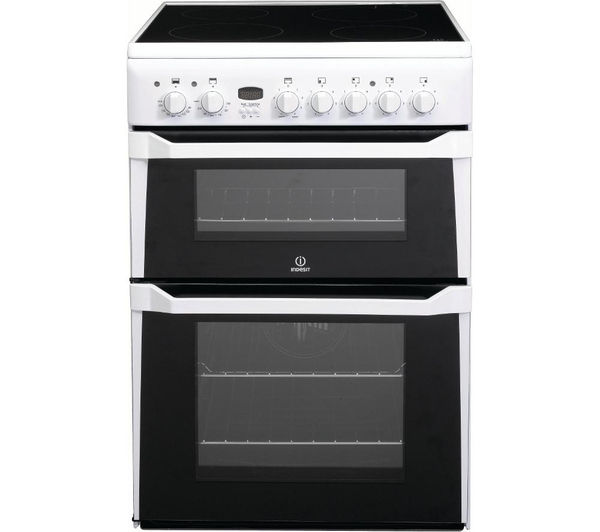 Buy Indesit Id60c2ws Electric Ceramic Cooker White