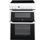 INDESIT ID60C2WS Electric Ceramic Cooker - White