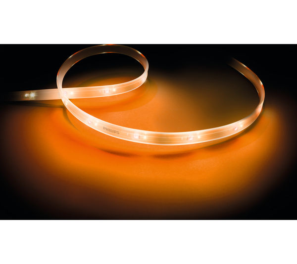 buy philips hue smart lightstrip plus led extension pack free delivery currys. Black Bedroom Furniture Sets. Home Design Ideas