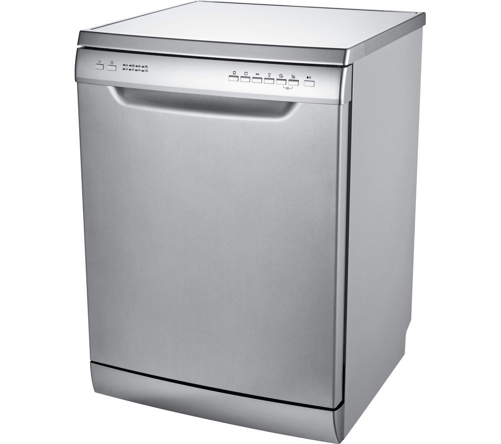 Buy essentials cdw60s16 full size dishwasher silver Kitchen appliance reviews uk