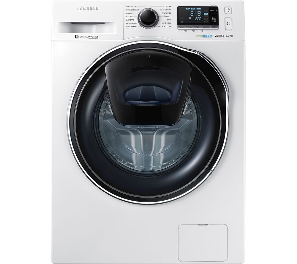buy samsung addwash ww90k6414qw washing machine white. Black Bedroom Furniture Sets. Home Design Ideas