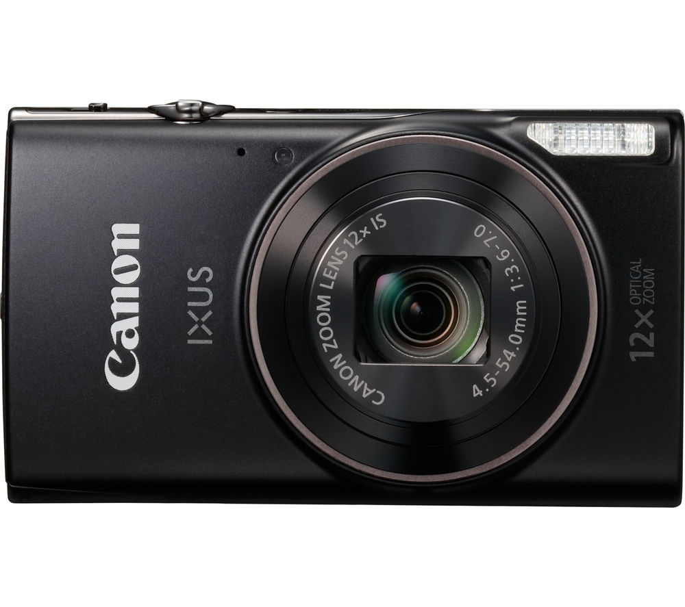 Click to view product details and reviews for Canon Ixus 285 Hs Compact Camera Black Black.