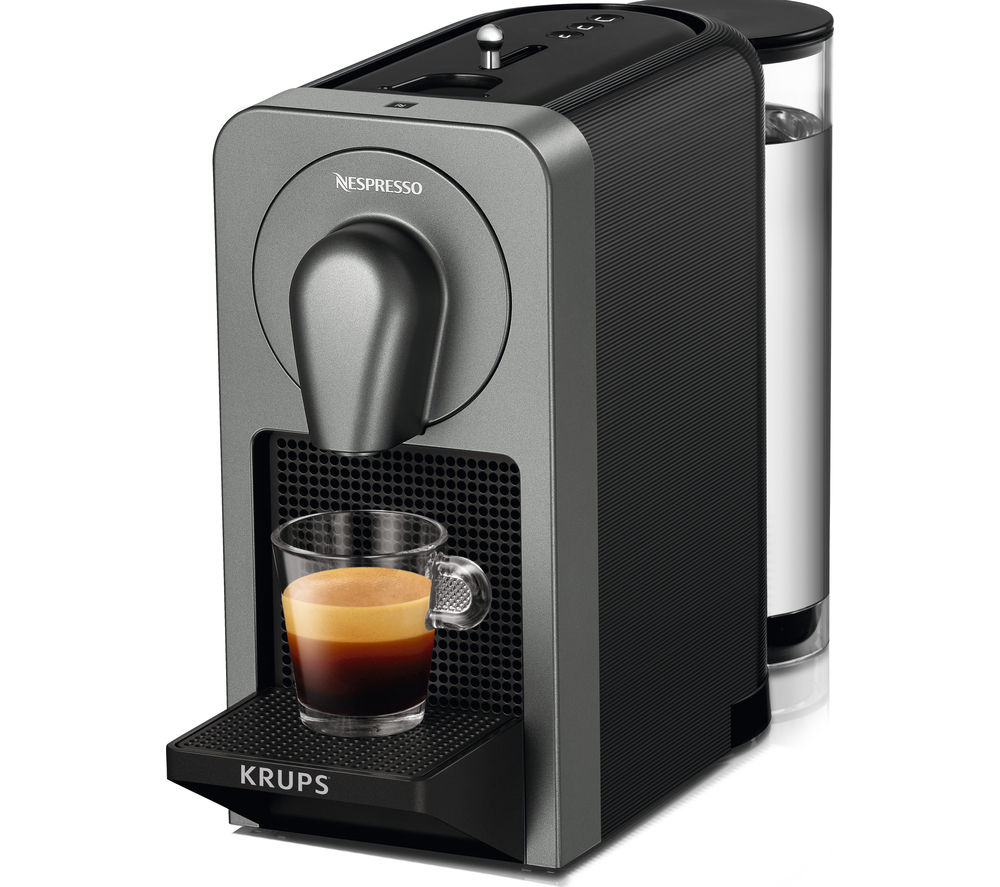 Buy nespresso by krups prodigio xn410t40 smart coffee machine black free delivery currys - Machine a cafe krups nespresso ...