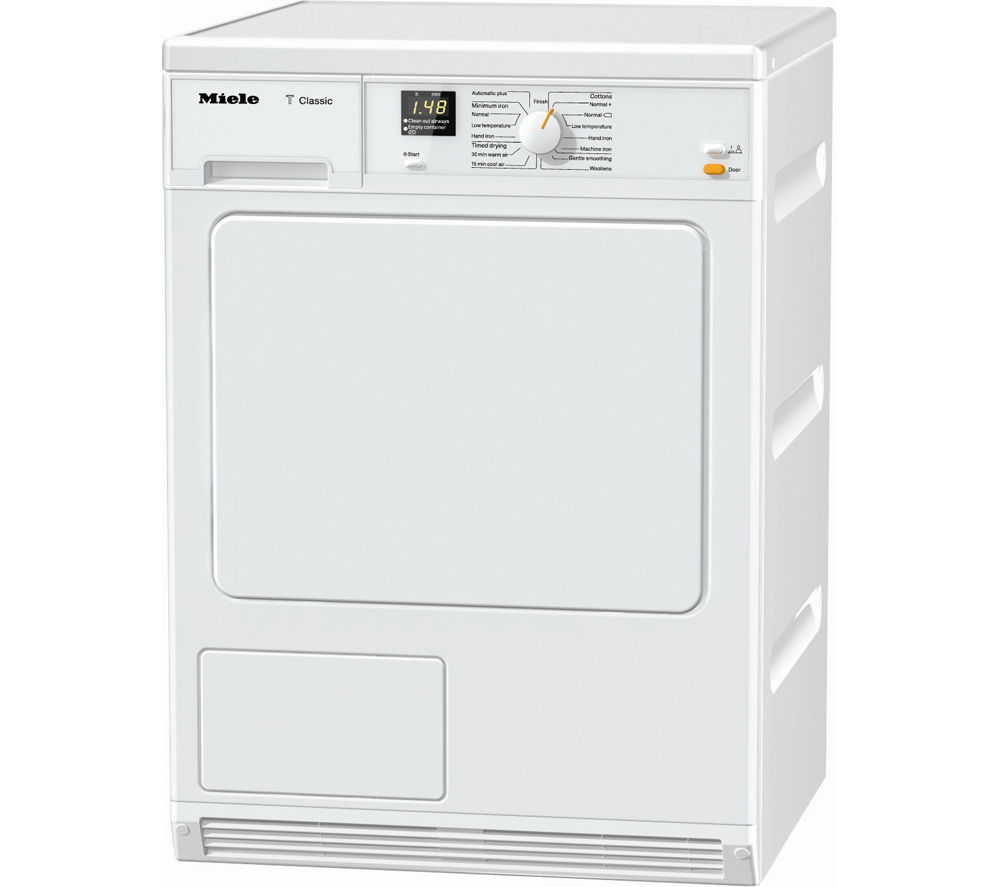 MIELE TDA140C Condenser Tumble Dryer - White