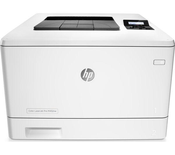 Hp Laserjet Pro M452nw Wireless Laser Printer Deals Pc World