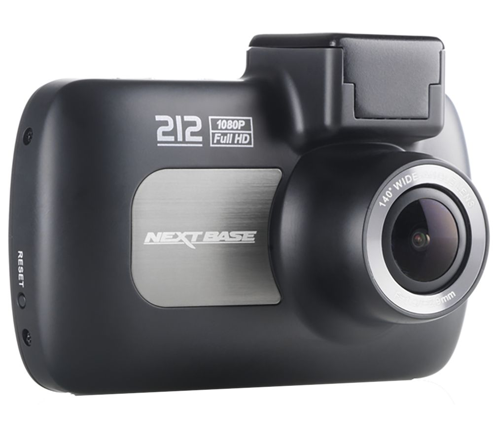 NEXTBASE 212 Lite Dash Cam - Black + Ultra Performance Class 10 microSDHC Memory Card - 16 GB