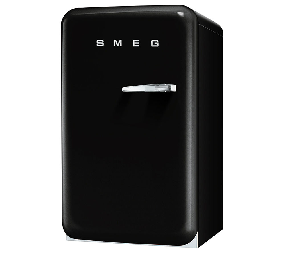 buy smeg fab10hlne mini fridge black free delivery currys. Black Bedroom Furniture Sets. Home Design Ideas