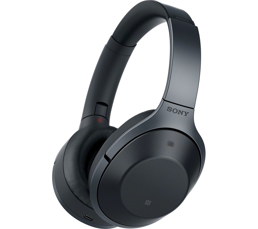 SONY MDR-1000X Wireless Bluetooth Noise-Cancelling Headphones - Black