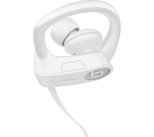 Buy BEATS Powerbeats3 Wireless Bluetooth Headphones - White ... 47f47993694b