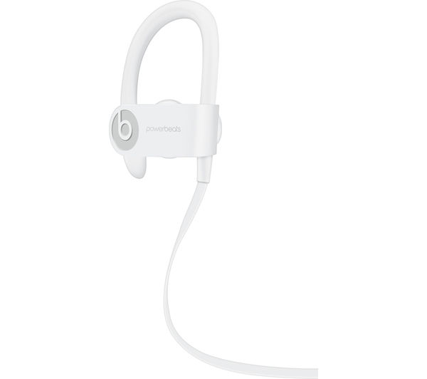 buy beats by dr dre powerbeats3 wireless bluetooth headphones white free delivery currys. Black Bedroom Furniture Sets. Home Design Ideas