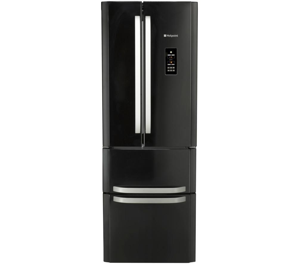 HOTPOINT FFU4DGK Fridge Freezer - Black