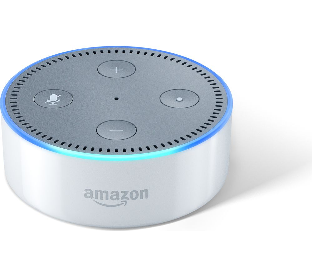 AMAZON Echo Dot - White, White