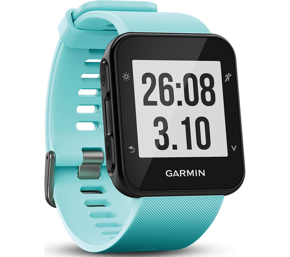 Buy garmin forerunner 35 frost blue universal free delivery currys for Garmin watches