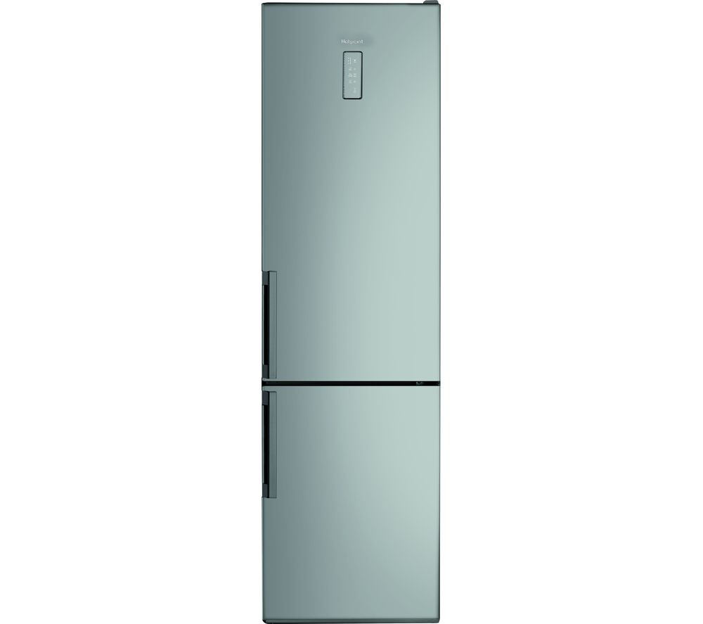 HOTPOINT Day 1 SMP9 D2Z X H 60/40 Fridge Freezer - Silver