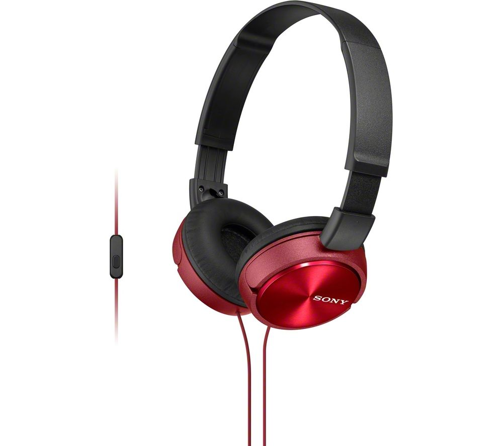 SONY MDR-ZX310APR Headphones - Red
