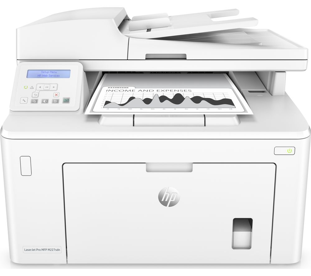 HP LaserJet Pro M227sdn All-in-One Laser Printer