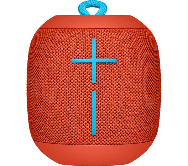 Image of ULTIMATE EARS Wonderboom Portable Bluetooth Wireless Speaker - Fireball