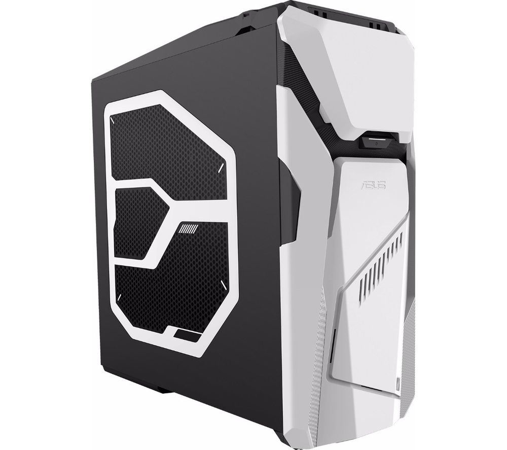 buy asus rog strix gd30 gaming pc black white office 365 personal 1 year for 1 user. Black Bedroom Furniture Sets. Home Design Ideas