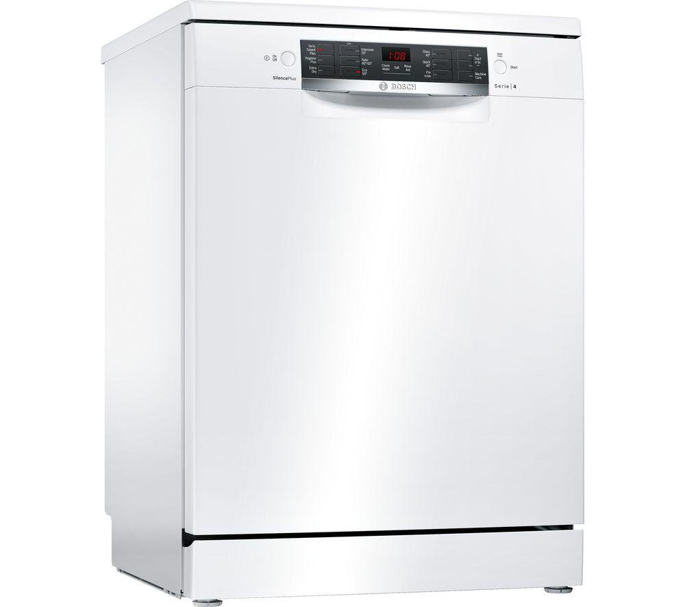 BOSCH Serie 4 SMS46IW04G Full-size Dishwasher - White