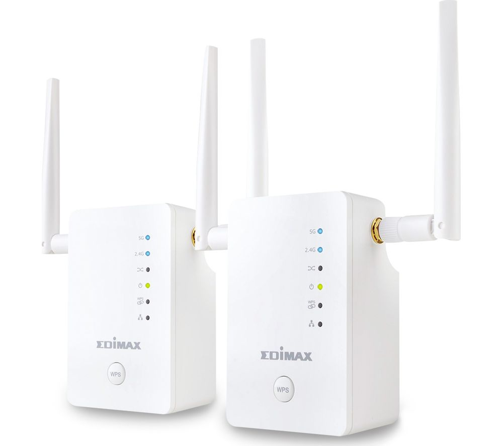 EDIMAX Gemini RE11 WiFi Range Extender - Twin Pack