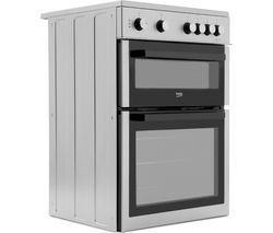 BEKO XTC611S 60 cm Electric Cooker - Silver Best Price, Cheapest Prices