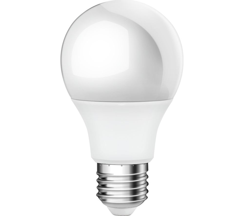 LOGIK LA58ETW17 LED Light Bulb - Warm White, Twin pack