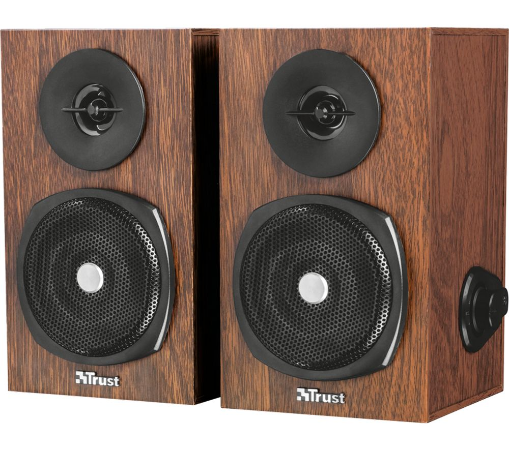 TRUST Vigor 2.0 PC Speakers - Brown