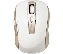 RAPOO 3920P Wireless Laser Mouse - White & Gold